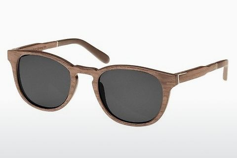 Aurinkolasit Wood Fellas Bogenhausen (10762 walnut/grey)