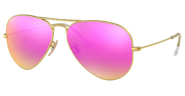 Ray-Ban   RB3025 112/4T GREEN MIRROR FUXIAMATTE GOLD