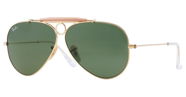 Ray-Ban   RB3138 001 CRYSTAL GREENARISTA